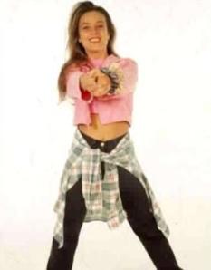 Cantante mexicana de música pop en los 90s